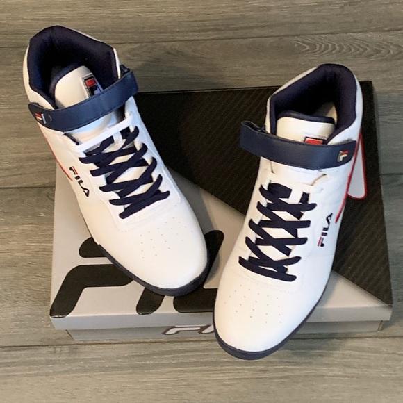 Fila Vulc 13 Mid Plus Sneaker. NWT